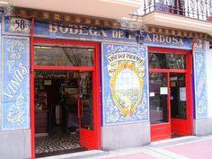 Tabernas de Madrid.