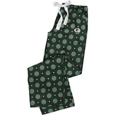 Green Bay Packers Women's Headliner Woven Pant at the Packers Pro Shop http://www.packersproshop.com/sku/5801026205/