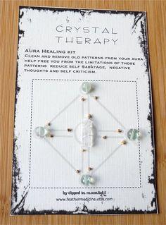 AURA HEALING crystal grid