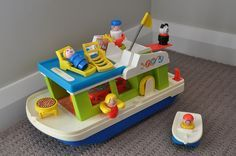 Fisher Price Little People Vacation Boat