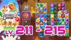 Genies & Gems - Level 211 - 215 (1080p/60fps)