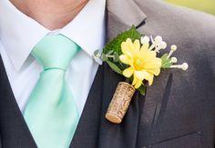 Wedding decor with wine corks: Katelyn James Photography / TheKnot.com