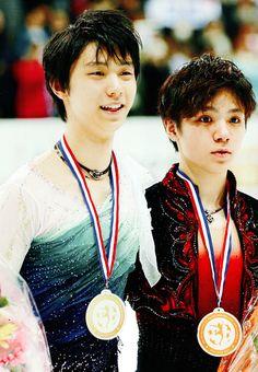 Yuzuru Hanyu and Shoma Uno - 2016 Grand Prix Final ©xoxomyseriesxoxo
