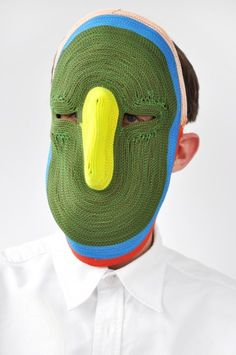 Bertjan Pot : Storytelling Masks  Moche mais Fun
