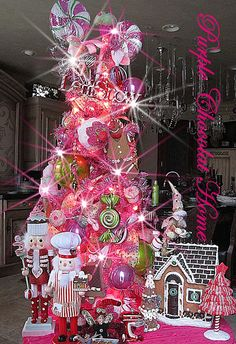 Purple Chocolat Home: Visions of Sugarplums Tree For My Kitchen