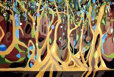 Patricia Mado  Narrabeen Lakes - 2011 Lakes, My Arts, My Love, Ponds