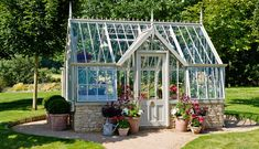 Alitex: this renowned garden greenhouse company has just brought a range of National Trust greenhouses which we're absolutely delighted by - take a look for yourselves!