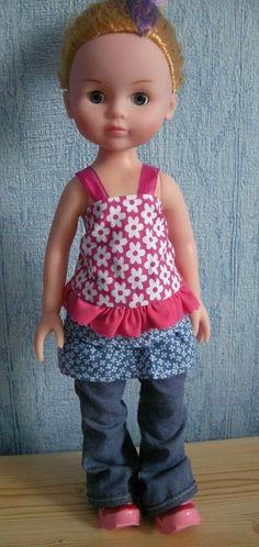Le mini ô de Georgie, tuto pour haut de poupée de 32-35 cm (type Corolle les Chéries)