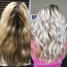 Likes, 36 Comments - Michigan Balayage Rose Blonde Hair, Blonde Hair Looks, Balayage Hair Blonde, Platinum Blonde Hair, Hair Color Highlights, Platinum Highlights, Hair Color For Fair Skin, Hair Essentials, Light Hair