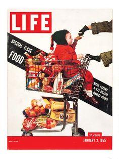 1955 original vintage Life magazine cover only. Magazine not included. Life Magazine, Magazine Stand, Magazine Rack, Vintage Magazines, Vintage Ads, Public Television, Life Cover, Magazine Illustration, Say Hi