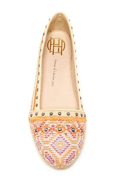 House of Harlow 1960 Kat Espadrille Flat