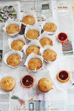 Blood Orange Muffins