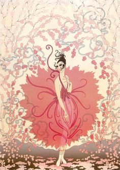 Pink Lady- by Erté I absolutely adore Erté's work. His 1920's fashion drawings are always so lovely.