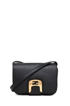 FENDI  Messenger in Black