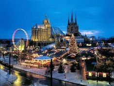 Un viaje fotográfico por los mercadillos navideños de cuento de Europa - ERFUT