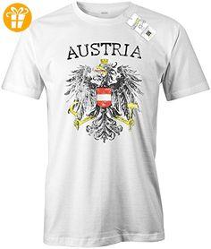 AUSTRIA VINTAGE LOOK - WM 2018 - ÖSTERREICH - HERREN - T-SHIRT in Weiss Gr. XL (*Partner-Link)