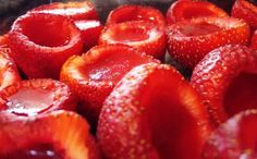 Jello Shot Strawberries