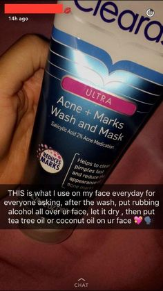 [Cringe] Use rubbing alcohol all over your face everyday let it dry and if you don't have coconut oil afterwards just use tea tree oil all over as well!