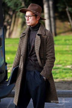 beyondfabric: Mr. Tomoyoshi Takada Pitti Uomo 89 Ph: Beyond Fabric