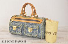 Louis Vuitton Blue Monogram Denim Neo Speedy Hand Bag M95019