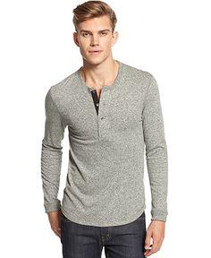 Alternative Apparel Shirt, Burnside Henley - T-Shirts - Men - Macy's Alternative Apparel, Alternative Outfits, Henley Shirts, Men's Style, Winter Outfits, Mens Fashion, Mens Tops, T Shirt, Clothes