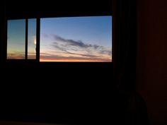 ©NicolasChevobbe Nuit à Hossegor, soleil couchant