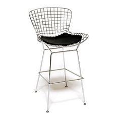Replica Wire Counter Stool   Clickon Furniture   Designer Modern Classic Furniture