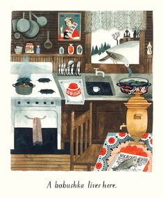 "An Illustrated Celebration of the Many Things Home Can Mean | ""Home,"" by @cfellis Carson Ellis #illustration #books"