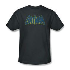 Batman Classic Bat Sketch Logo Youth Ladies Jr V-Neck Men Long Sleeve Tank Top T-shirt