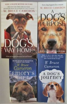 Dog Books, Children Books, A Dog's Journey, Dog Films, A Dogs Purpose, The Stranger Movie, Book Gifts, Paperback Books, My Best Friend