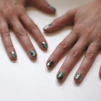 Incredible Turquoise Nail Tutorial