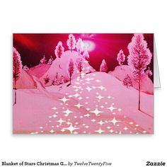 Blanket of Stars Christmas Greeting Cards
