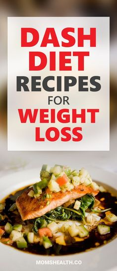 Check these best DASH diet recipes for Weight Loss - I made a collection of the best Low-Sodium Recipes. If you have a high blood pressure problem or Hypertension, you can't be on medication all your life - DASH diet provides a healthy solution, also helps you lose weight. #diet #weightloss #recipes Weight Loss Meals, Diet Plans To Lose Weight Fast, Losing Weight, Weight Gain, Dash Diet Recipes, Low Sodium Recipes, Healthy Recipes, Dash Diet Meal Plan, Simple Recipes