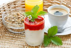 Check out Breakfast with coffee and juice by LiliGraphie on Creative Market