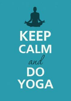 """Keep Calm and Do Yoga- give a """"like"""" if you are a yogi."""