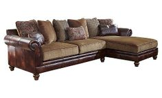 My New Sofa - Hartwell - Canyon Sectional from Ashley Furniture. Love it.