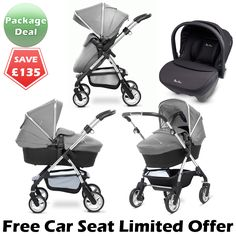 Buy your Silver Cross Package Deal travel system from our extensive range of travel systems, prams, pushchairs, strollers. Baby Girl Strollers, Baby Prams, Mothercare Prams, Silver Cross Prams, Bob Stroller, Baby Buggy, Package Deal, Traveling With Baby
