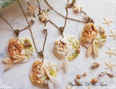 """""""romantic mermaid"""" By Prigioniera di un sogno bijoux"""