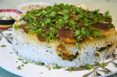 Persischer Reis <3  Persian Rice <3   http://www.vivalasvegans.de/rezepte/hauptgerichte/persischer-reis/