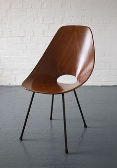Medea chairs by Vittorio Nobili