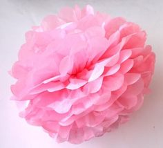 party 30pcs 4,6,8 inches 10cm 15cm 20cm Tissue Paper Pom Poms Paper Flowers Ball pompom wedding Birthday Decoration Parties