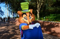 Walt Disney World, Epcot Character Training, J. Worthington Foulfellow