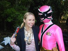 Kimberley with Pink Ranger