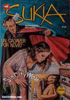 Sukia #68 Sexy Vampire Sukia A Snack for Her boyfriend | SinCityWow Comics!