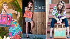 Three People Designs » Jacinto & Lirio Bags Lily Pulitzer, Philippines, People, Bags, Dresses, Design, Fashion, Lilies, Purses