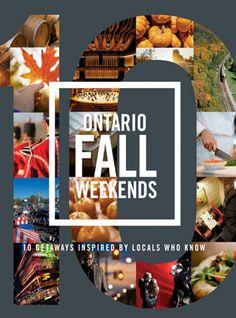 10 Ontario Fall Weekends Magazine