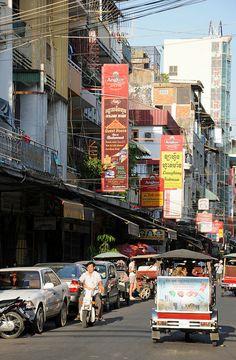 Phnom Penh Street - Cambodia