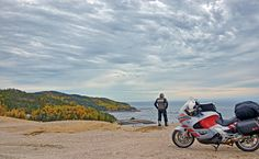 The dunes in the Saguenay Fjord National Park overlook the Saint Lawrence River where whales can usually be spotted. This area was featured in the September 2013 issue of Rider magazine. Click photo to learn more!