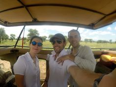 Martina, Carlos y Gonzalo de safari. Por Carlos