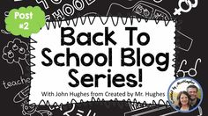An Educator's Life: Back to School Series- Part 2 {Planning the First Three+ Days}